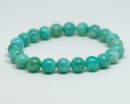 Beautiful light green amazonite bracelet