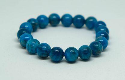 Dark blue Apalite bracelet