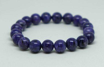 Deep dark purple swirling charoite