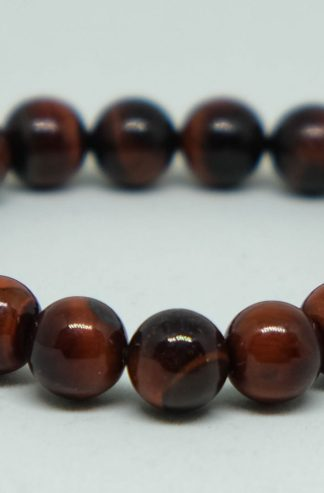 red tiger's eye with lots of dark red colors