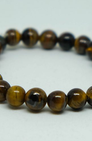 yellow tiger's eye bracelet