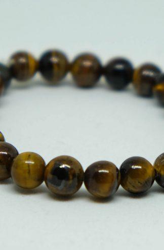 yellow tiger's eye bracelet