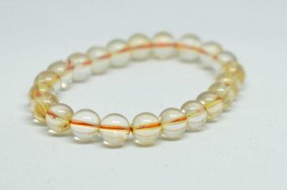 Light and joyful sparkly citrine bracelet