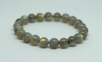 dark green and grey labradorite with vivid flashes of color