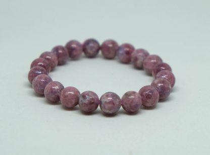 Rossmanite , or red tourmaline bracelet