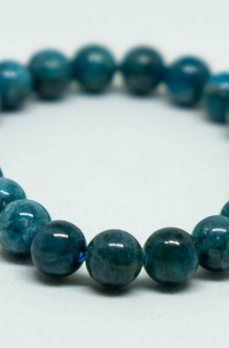 Blue greenish Apatite bracelet