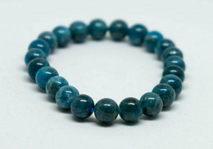 Blue greenish Apatite bracelet