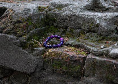 sugilite on some brick ruins