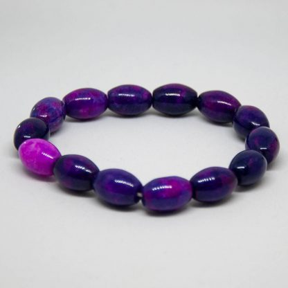 Some nice sugilight with slightly egg shaped beads and varying shades of purple
