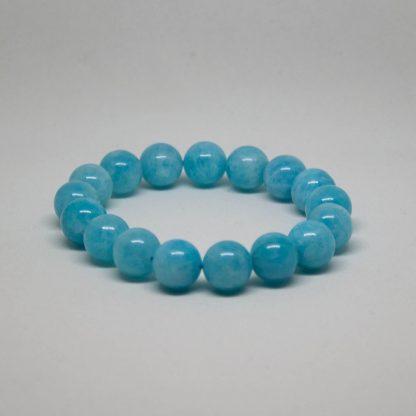 beautiful blue aquamarine bracelet
