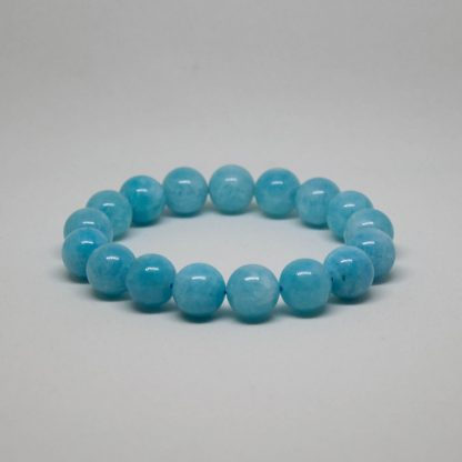 beautiful blue aquamarine bracelet, as blue as the sea