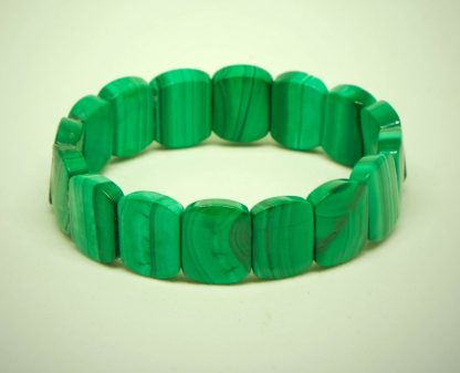Geen Malachite bracelet, lush and green